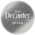Decanter Asia Wine Adward 2015 silver