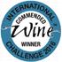 International Wine Winner certificates 2015 commended